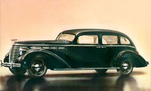 Hudson 8 Country Club Sedan 1938