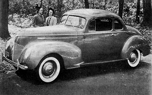 Hudson Six Coupe 1939