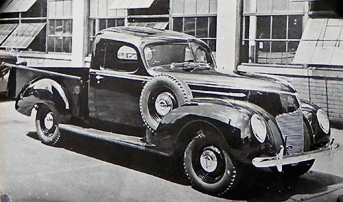 Pick Up Hudson Pacemaker 1939