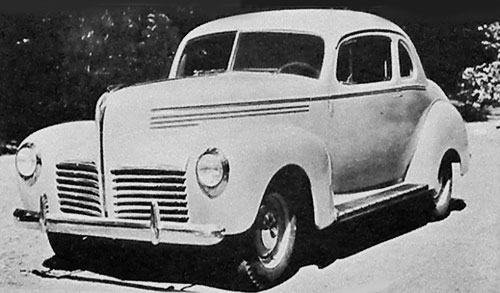 Hudson Six coupe 1940