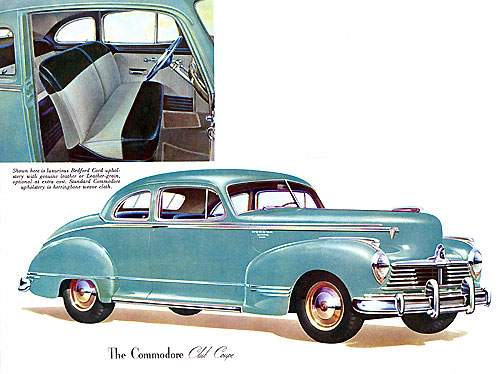 Hudson Commodore Club Coupe 1947