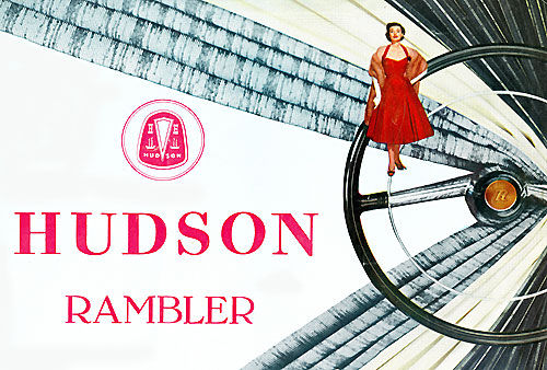 Catalogue Hudson Rambler 1955