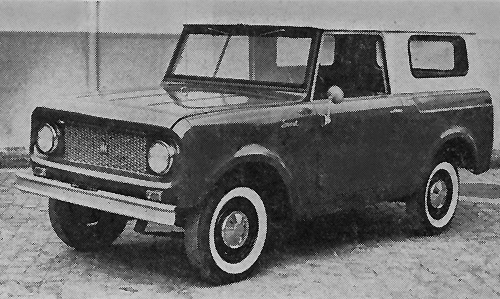 International Scout 80 de 1961