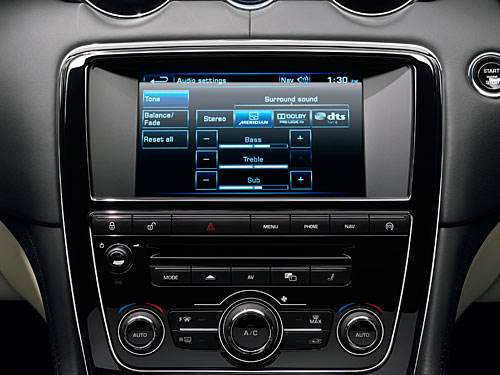 Jaguar Meridian audio 2013
