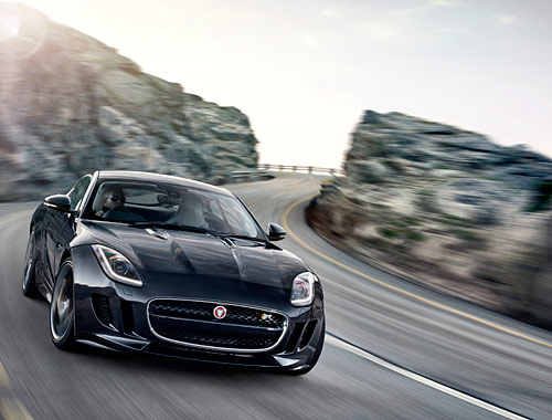 Jaguar F Type R Coupé (LA 2013)