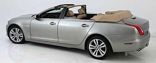 nce newport convertible engineering r alise un cabriolet 4 portes bas sur la jaguar xf. Black Bedroom Furniture Sets. Home Design Ideas