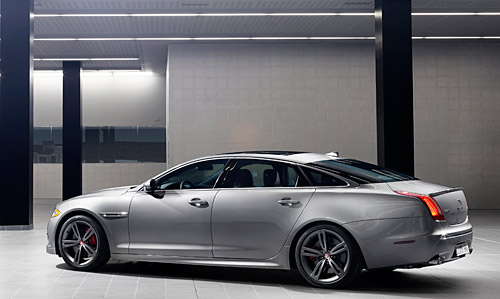 Jaguar XJR New York 2013