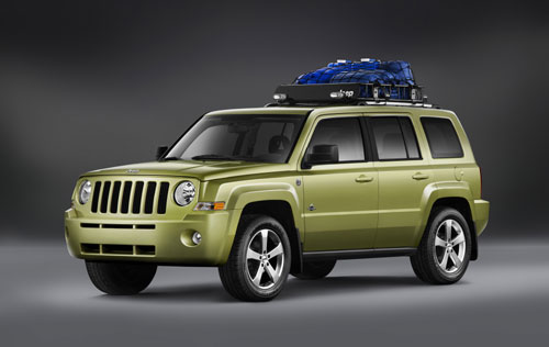 Jeep Patriot Back Country Concept (Paris 2008).
