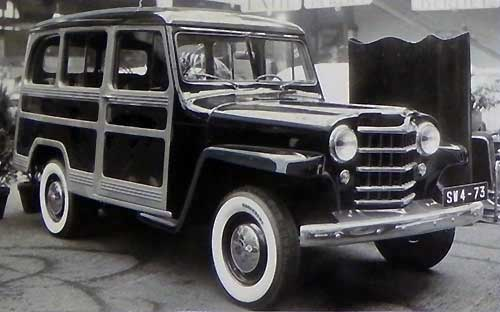 Version 1951 du Jeep Station Wagon
