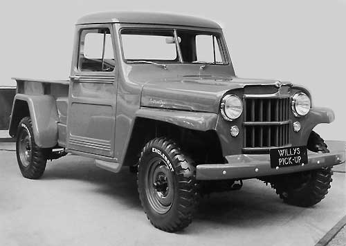 Pick Up sur base Jeep (1955)