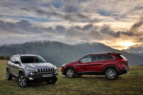 Jeep Cherokee Limited et Trailhawk 2014