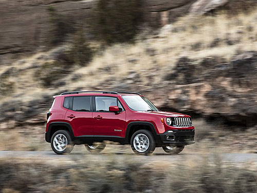 la nouvelle jeep renegade ann e mod le 2015 pr sent e en premi re mondiale au salon de l. Black Bedroom Furniture Sets. Home Design Ideas