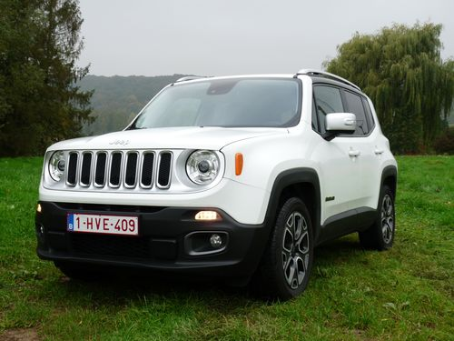 Jeep Renegade 4x2 Limited - 2015