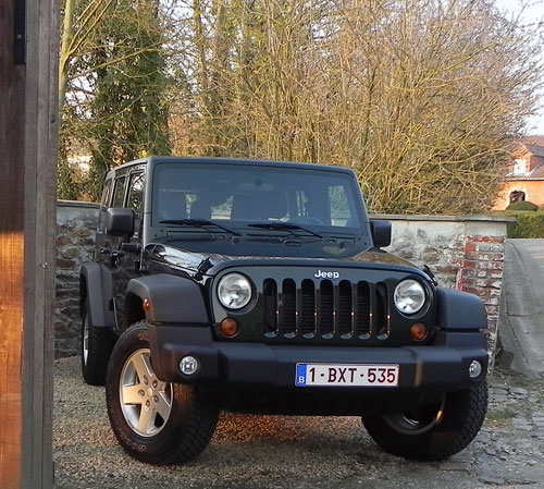 Jeep wrangler diesel occasion belgique for Garage jeep luxembourg