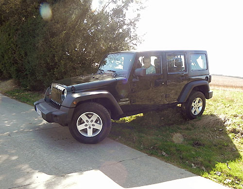 Jeep Wrangler Unlimited Sport 2,8 Turbo CRD Automatic 2012