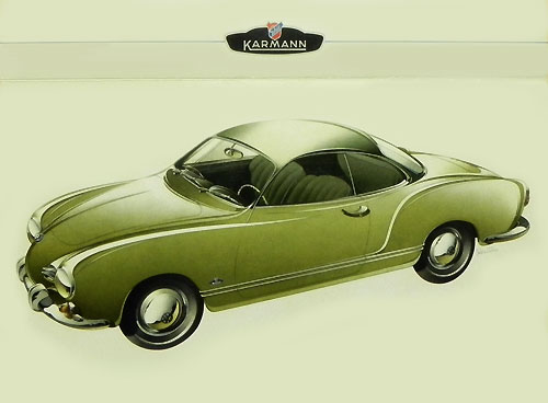 VW Karmann-Ghia coupé 1955