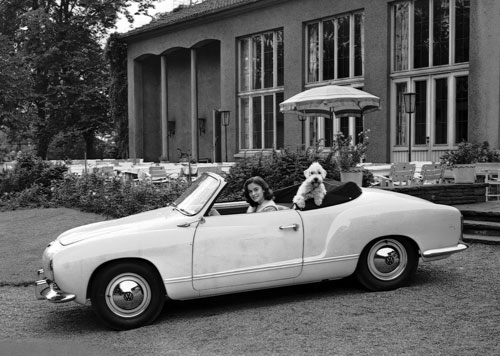VW Karmann-Ghia Cabriolet type 14 (1957-1974: 80.881 ex.)