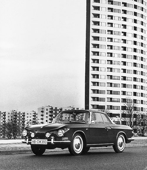 VW Karmann Ghia Coupé Type 34 de 1961
