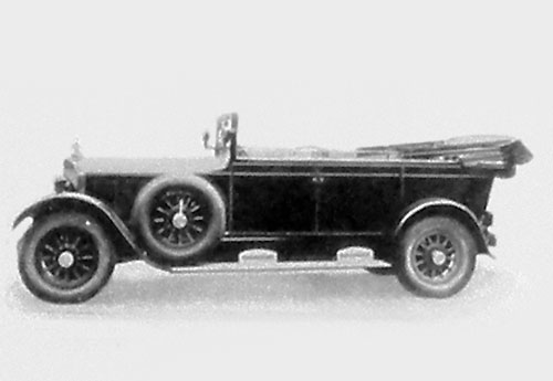 Mercedes 630 carrossée par Karmann en 1928