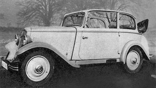 Hanomag Garant 1935 « by Karmann »