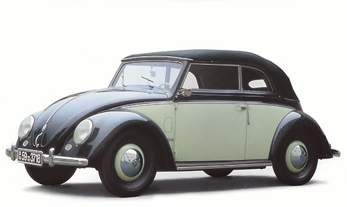 Cabriolet KarmannVW Käfer 1949