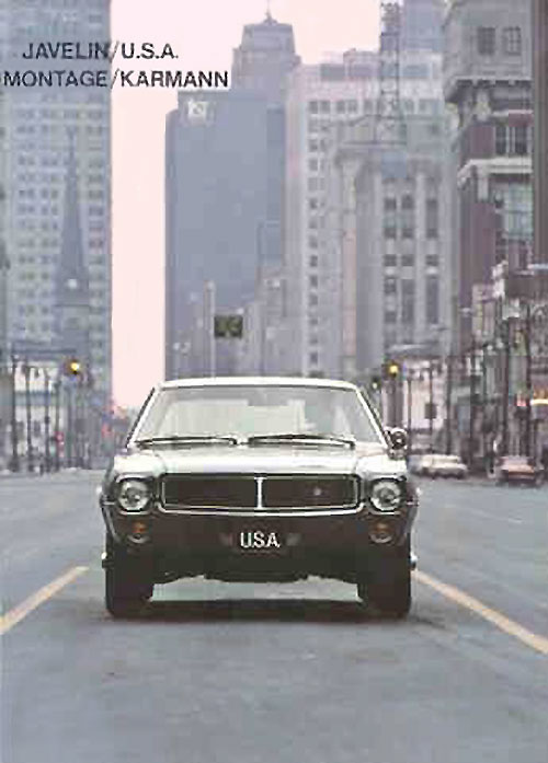 AMC Javelin 79-K - Montage Karmann (1968)