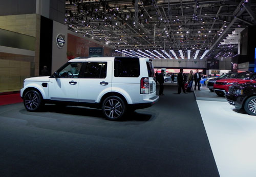Land Rover Discovery White Limited Edition 2011