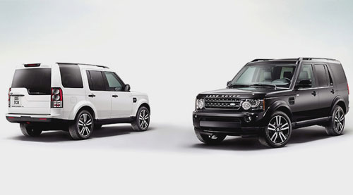 Land Rover Discovery Black and White Limited Edition 2011