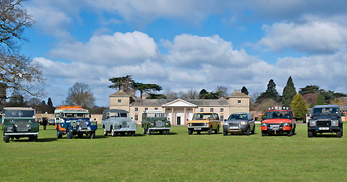 Land Rover : 65 ans d'existence