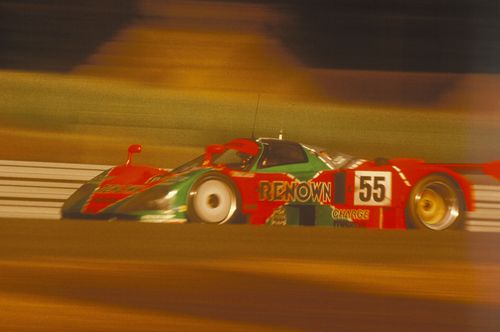 20 ans apr s sa victoire la mazda 787b est de retour au mans automania. Black Bedroom Furniture Sets. Home Design Ideas