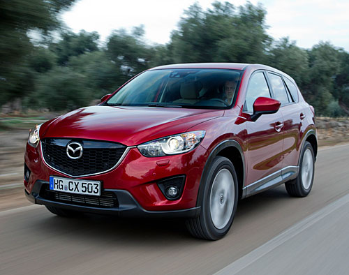 MAZDA CX-5 2012 (Zeal Red)