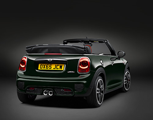 la nouvelle mini john cooper works cabrio automania. Black Bedroom Furniture Sets. Home Design Ideas
