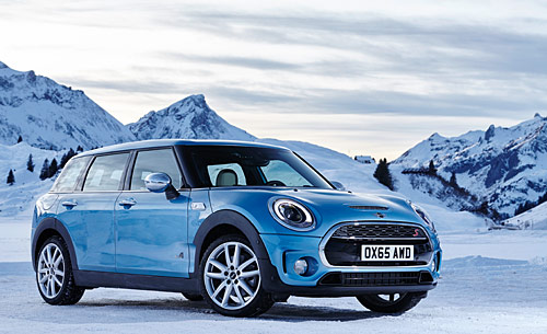 La nouvelle Mini Clubman ALL4 2016