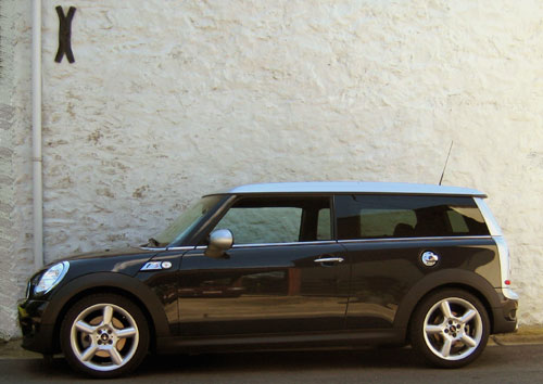 Mini Clubman Cooper S Test.