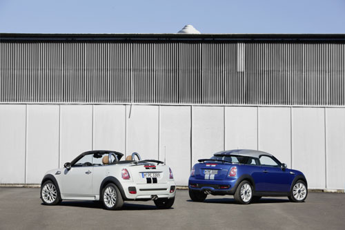 MINI Coupé 2012 - MINI Roadster 2012