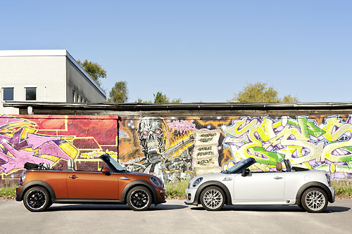 MINI Cabriolet 2012 - MINI Roadster 2012
