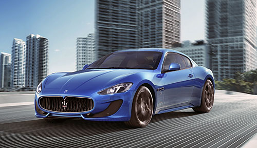 nouvelle maserati granturismo sport automania. Black Bedroom Furniture Sets. Home Design Ideas