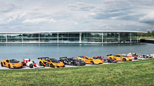 McLaren to showcase 50 years of racing heritage at 2013 Goodwood Festival of Speed