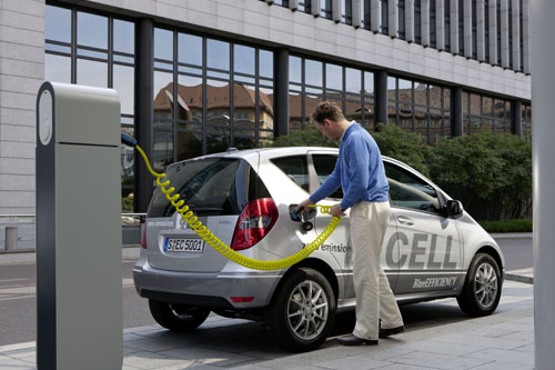 Mercedes Classe A E-CELL 2011