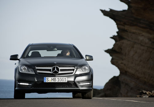 Mercedes C Coupe 250 CDI 2012