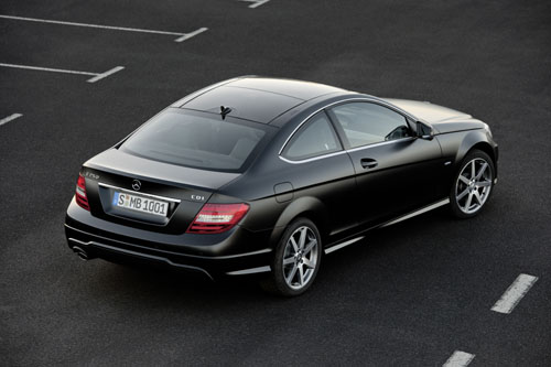mercedes benz classe c coup 2012 premi re mondiale gen ve 2011 automania. Black Bedroom Furniture Sets. Home Design Ideas