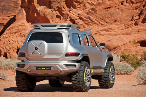 Mercedes-Benz Ener-G-Force (Los Angeles Design Challenge 2012)