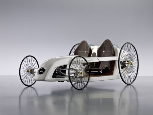 Mercedes-Benz F-Cell Roadster Concept  2009.
