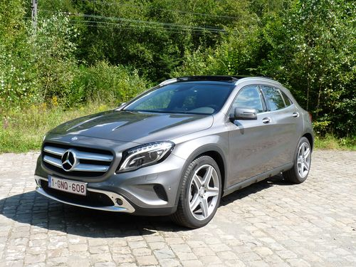 Mercedes GLA 220CDI 4MATIC 2014