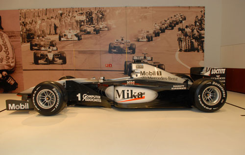West-McLaren – Mercedes FI – MP4-14, Mika Häkkinen, 1999 (collection : Mercedes-Benz, Stuttgart)