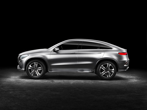 Mercedes-Benz Concept Coupé SUV (2014)