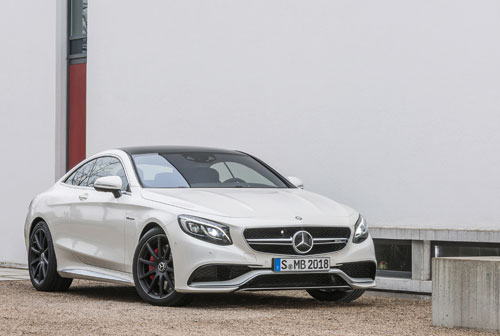 Mercedes S63 AMG 4MATIC Coupé 2014