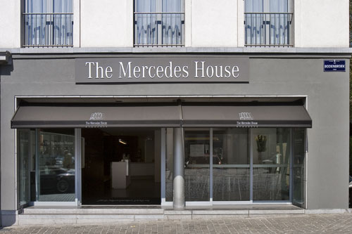 """The  Mercedes  House  Brussels""."