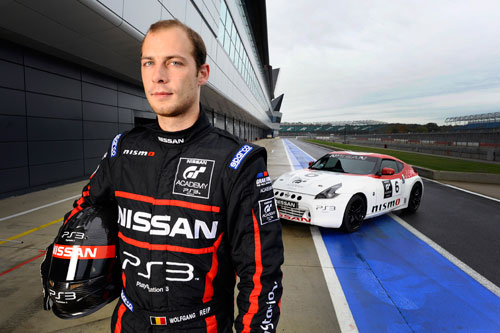 Nissan GT Academy 2012 : Wolfgang Reip