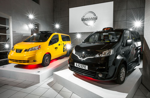 Nissan NV200 New York et London Taxi